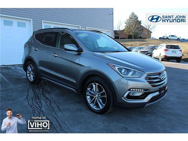2018 Hyundai Santa Fe Sport 2.0T Limited (Stk: U1992) in Saint John - Image 1 of 25
