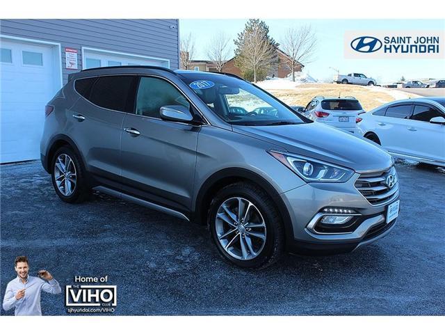 2017 Hyundai Santa Fe Sport 2.0T Limited (Stk: U2022) in Saint John - Image 1 of 26