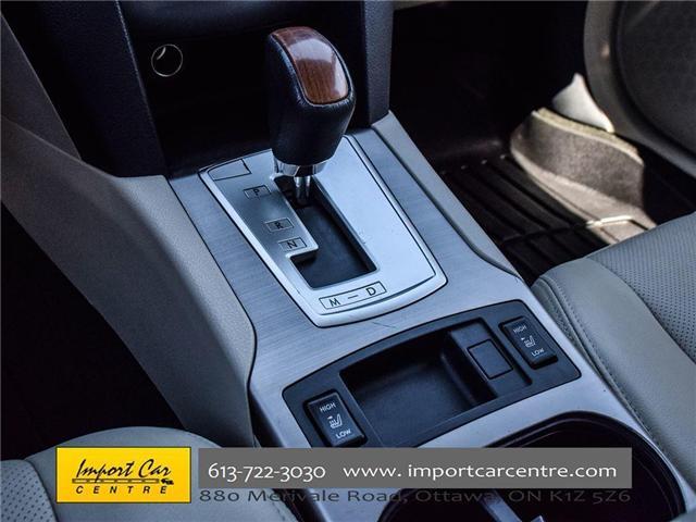 2013 Subaru Outback 2.5i Limited Package (Stk: 202333) in Ottawa - Image 9 of 24