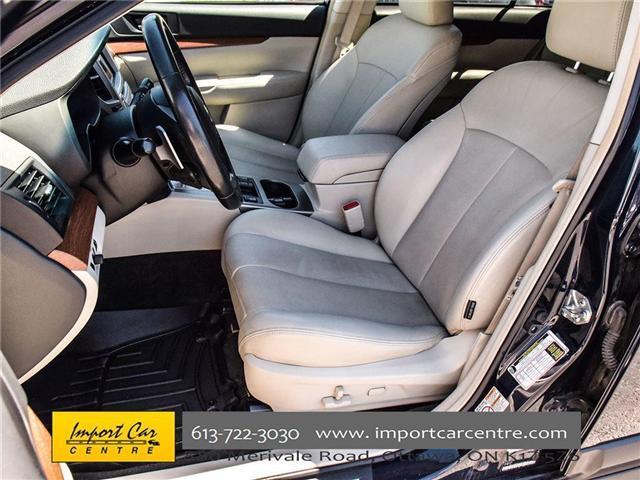 2013 Subaru Outback 2.5i Limited Package (Stk: 202333) in Ottawa - Image 11 of 24