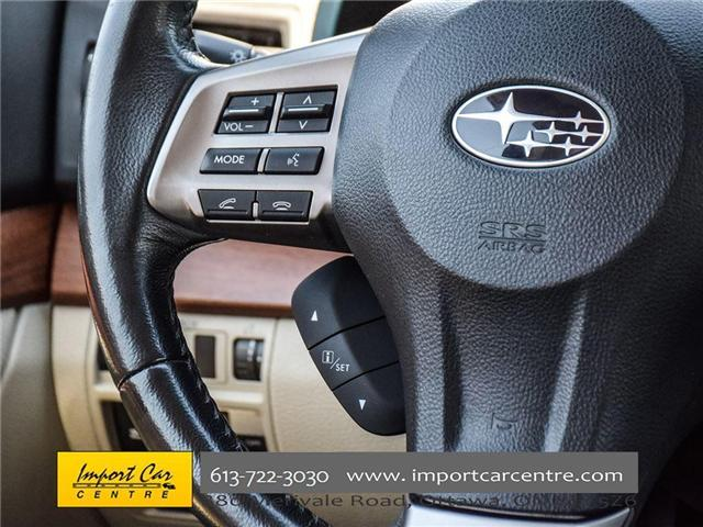 2013 Subaru Outback 2.5i Limited Package (Stk: 202333) in Ottawa - Image 13 of 24