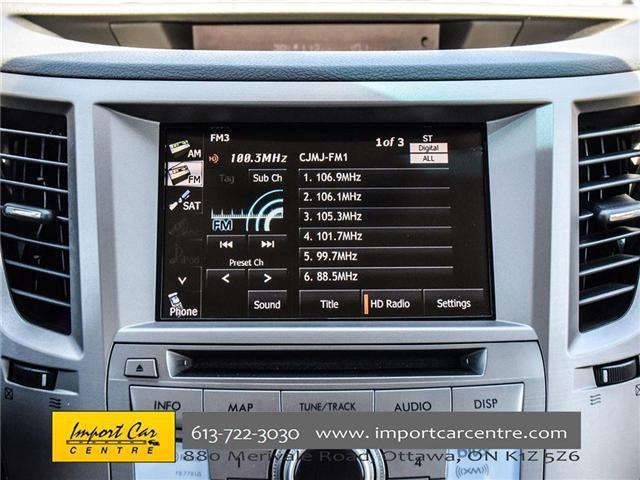 2013 Subaru Outback 2.5i Limited Package (Stk: 202333) in Ottawa - Image 16 of 24