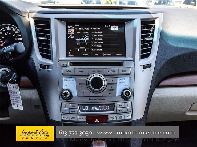2013 Subaru Outback 2.5i Limited Package (Stk: 202333) in Ottawa - Image 19 of 24