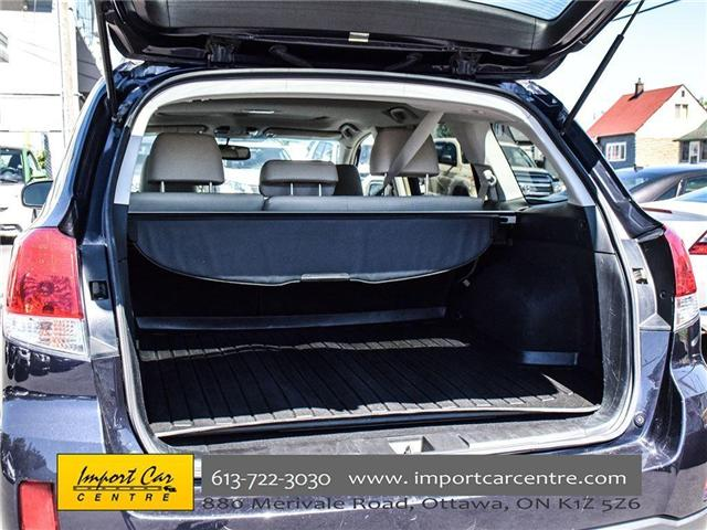 2013 Subaru Outback 2.5i Limited Package (Stk: 202333) in Ottawa - Image 24 of 24