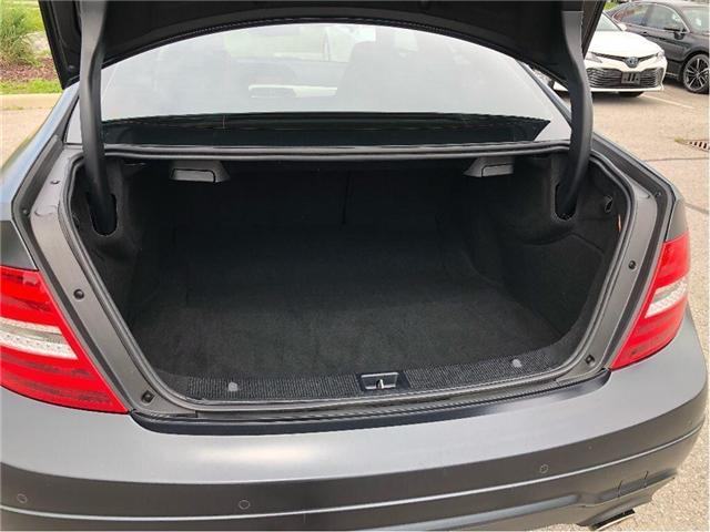 2012 Mercedes-Benz C-Class Base (Stk: 180942A) in Whitchurch-Stouffville - Image 20 of 21