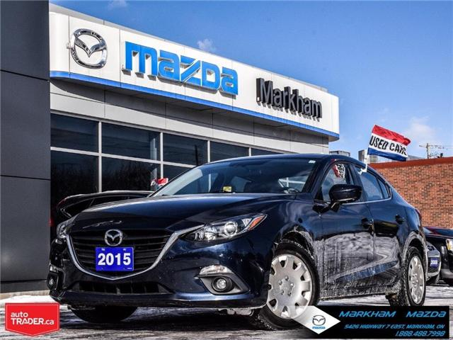 2015 Mazda Mazda3 GS (Stk: P1846) in Markham - Image 1 of 28