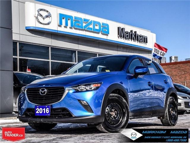 2016 Mazda CX-3 GX (Stk: N180587A) in Markham - Image 1 of 27