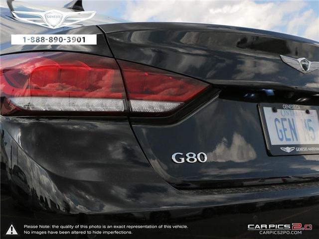2018 Genesis G80 5.0 Ultimate (Stk: 174685) in Markham - Image 12 of 27