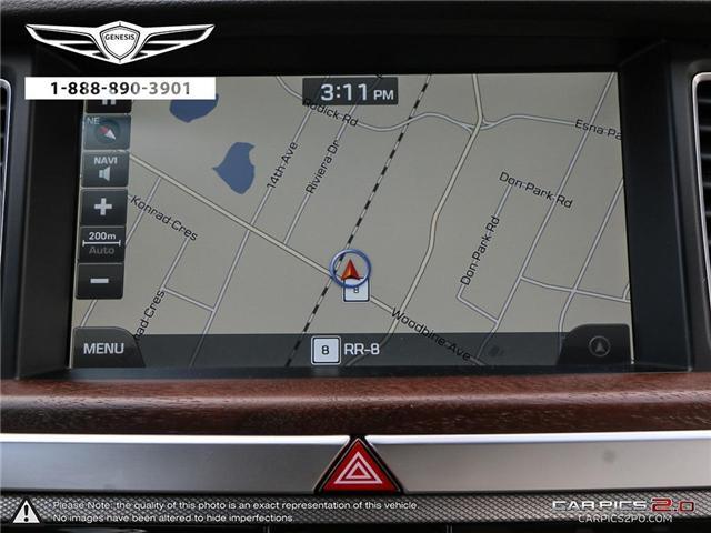2018 Genesis G80 5.0 Ultimate (Stk: 174685) in Markham - Image 21 of 27