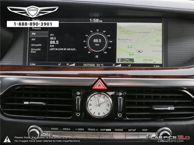 2017 Genesis G90 5.0 Ultimate (Stk: 174141) in Markham - Image 21 of 27