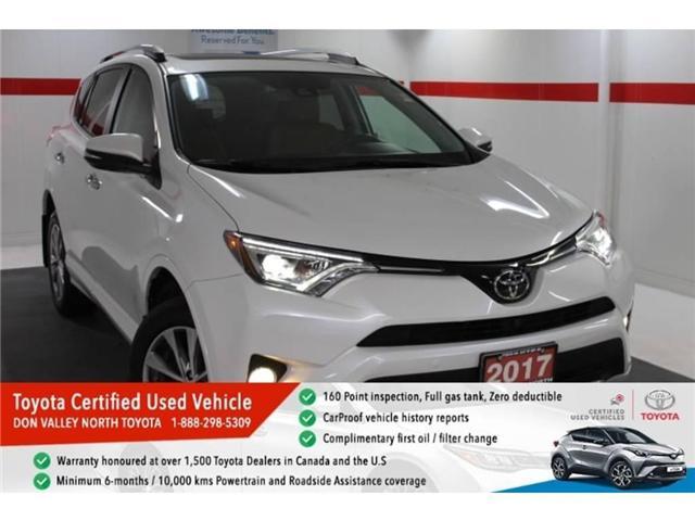 2017 Toyota RAV4 Limited (Stk: 297144S) in Markham - Image 1 of 27