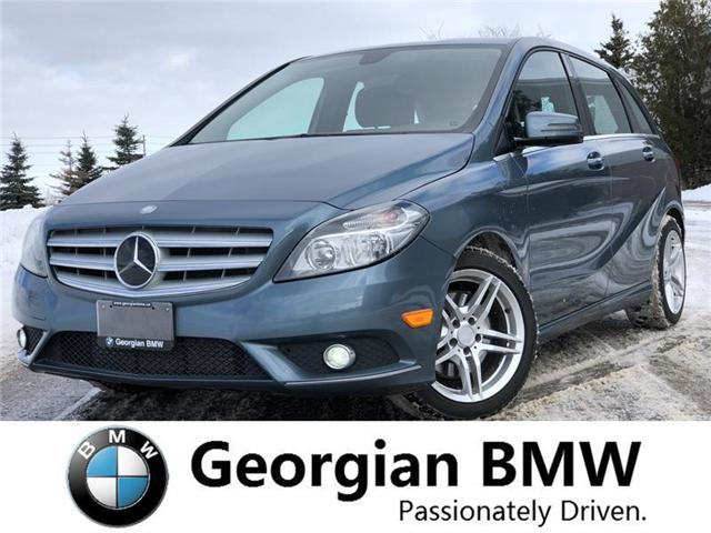 2013 Mercedes-Benz B-Class Sports Tourer (Stk: P1343-1) in Barrie - Image 1 of 15