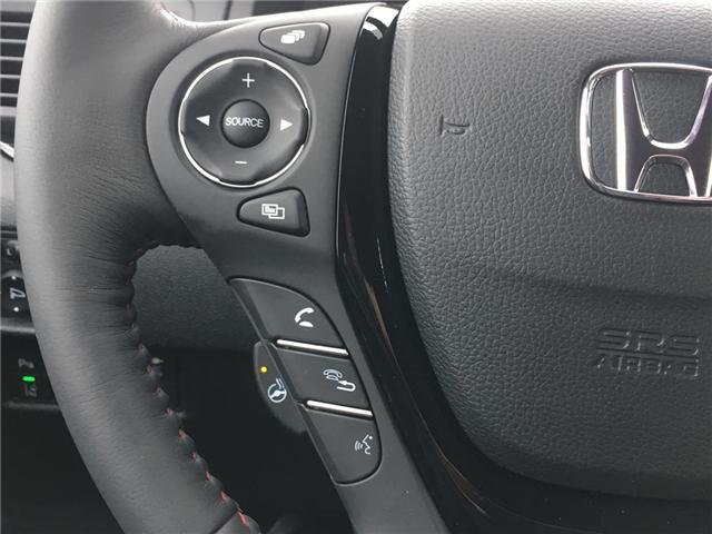 2019 Honda Ridgeline Black Edition (Stk: 19116) in Barrie - Image 10 of 16