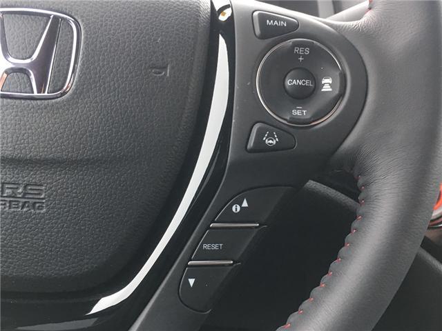 2019 Honda Ridgeline Black Edition (Stk: 19116) in Barrie - Image 11 of 16