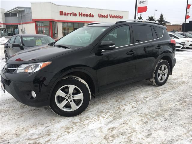 2015 Toyota RAV4  (Stk: U15972) in Barrie - Image 1 of 14