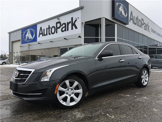 2015 Cadillac ATS 2.0L Turbo (Stk: 15-23660RJB) in Barrie - Image 1 of 27