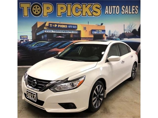 2017 Nissan Altima 2.5 SV (Stk: 334108) in NORTH BAY - Image 1 of 25
