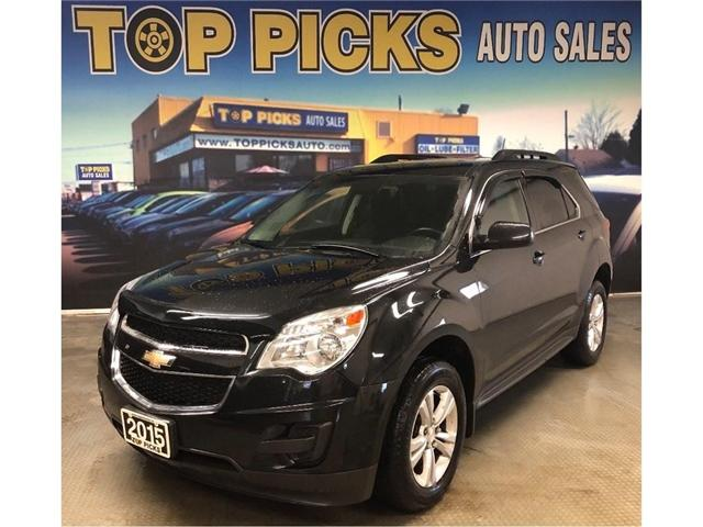 2015 Chevrolet Equinox 1LT (Stk: 206917) in NORTH BAY - Image 1 of 26