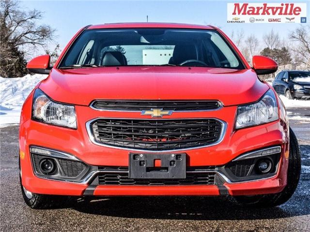 2015 Chevrolet Cruze 2LT-RS-LEATHER-ROOF-GM CERTIFIED PRE-OWNED-1 OWNER (Stk: P6290) in Markham - Image 2 of 30