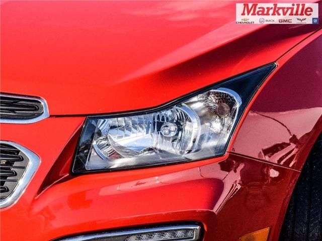 2015 Chevrolet Cruze 2LT-RS-LEATHER-ROOF-GM CERTIFIED PRE-OWNED-1 OWNER (Stk: P6290) in Markham - Image 3 of 30