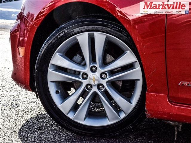 2015 Chevrolet Cruze 2LT-RS-LEATHER-ROOF-GM CERTIFIED PRE-OWNED-1 OWNER (Stk: P6290) in Markham - Image 4 of 30