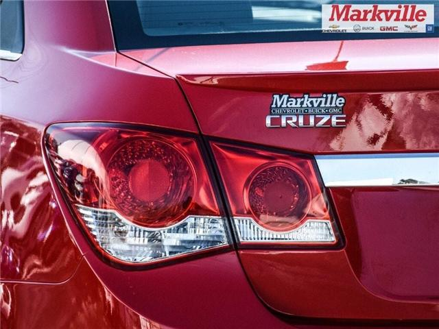 2015 Chevrolet Cruze 2LT-RS-LEATHER-ROOF-GM CERTIFIED PRE-OWNED-1 OWNER (Stk: P6290) in Markham - Image 5 of 30