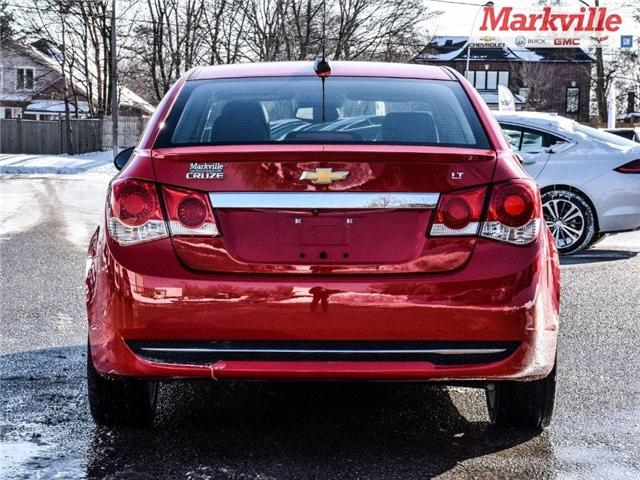 2015 Chevrolet Cruze 2LT-RS-LEATHER-ROOF-GM CERTIFIED PRE-OWNED-1 OWNER (Stk: P6290) in Markham - Image 6 of 30