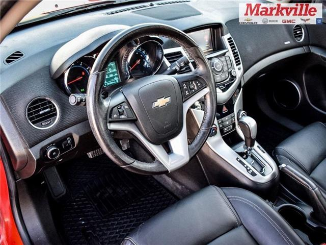 2015 Chevrolet Cruze 2LT-RS-LEATHER-ROOF-GM CERTIFIED PRE-OWNED-1 OWNER (Stk: P6290) in Markham - Image 11 of 30