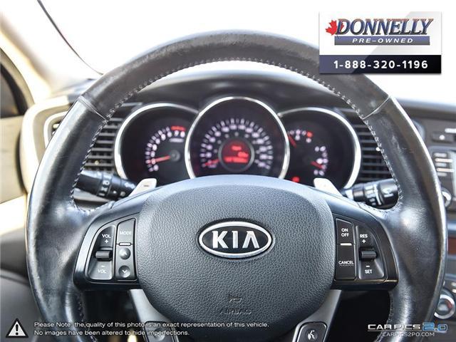 2012 Kia Optima EX Turbo (Stk: KUR2249A) in Kanata - Image 14 of 28