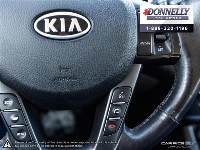 2012 Kia Optima EX Turbo (Stk: KUR2249A) in Kanata - Image 18 of 28