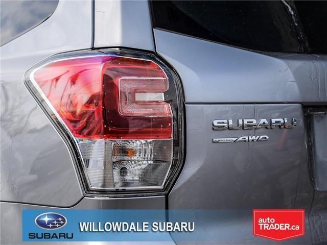 2018 Subaru Forester 2.5i Touring|EyeSight|BLINDSPOT|LANE DEPARTURE (Stk: 18D66) in Toronto - Image 7 of 25