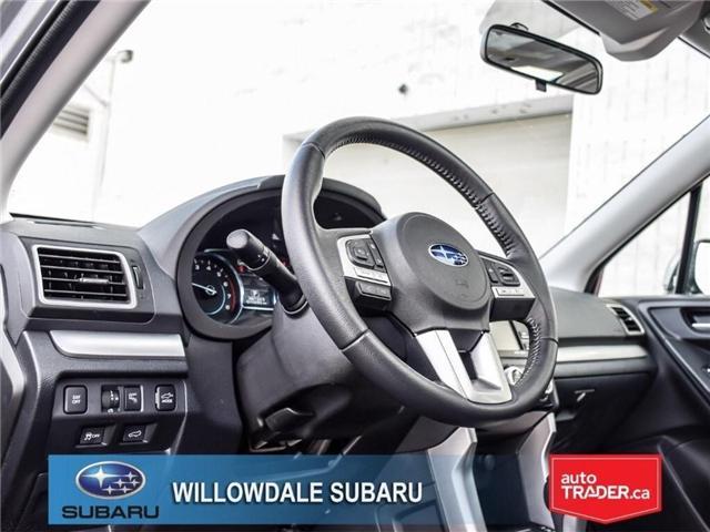 2018 Subaru Forester 2.5i Touring|EyeSight|BLINDSPOT|LANE DEPARTURE (Stk: 18D66) in Toronto - Image 11 of 25