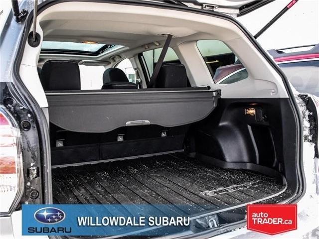 2018 Subaru Forester 2.5i Touring|EyeSight|BLINDSPOT|LANE DEPARTURE (Stk: 18D66) in Toronto - Image 15 of 25