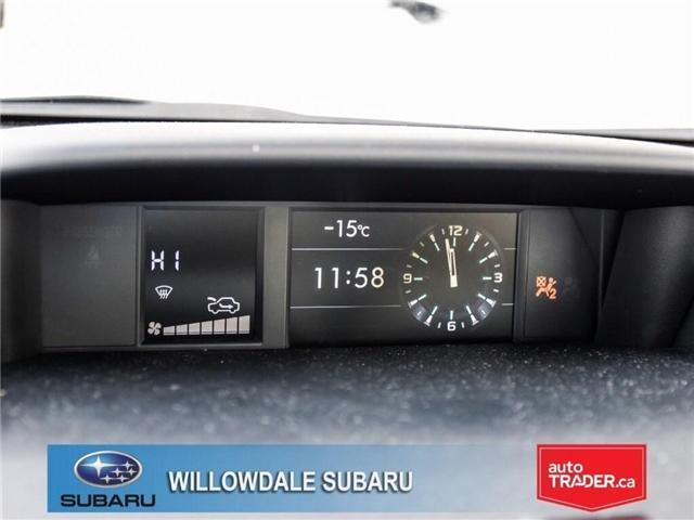 2018 Subaru Forester 2.5i Touring|EyeSight|BLINDSPOT|LANE DEPARTURE (Stk: 18D66) in Toronto - Image 17 of 25