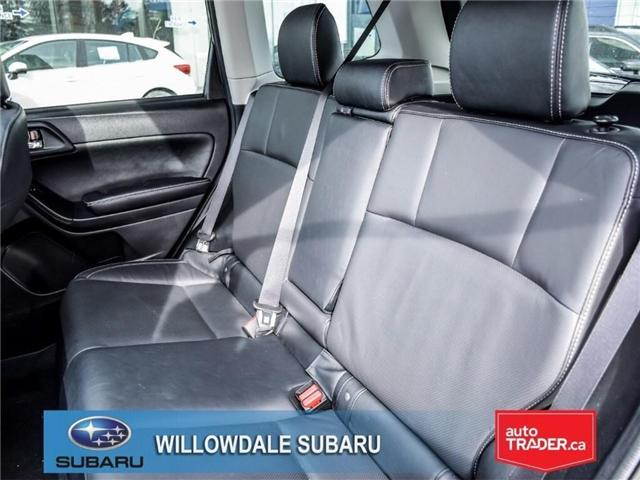 2018 Subaru Forester 2.5i | LIMITED | LEATHER | SUNROOF | NAVI (Stk: 18D64) in Toronto - Image 15 of 27