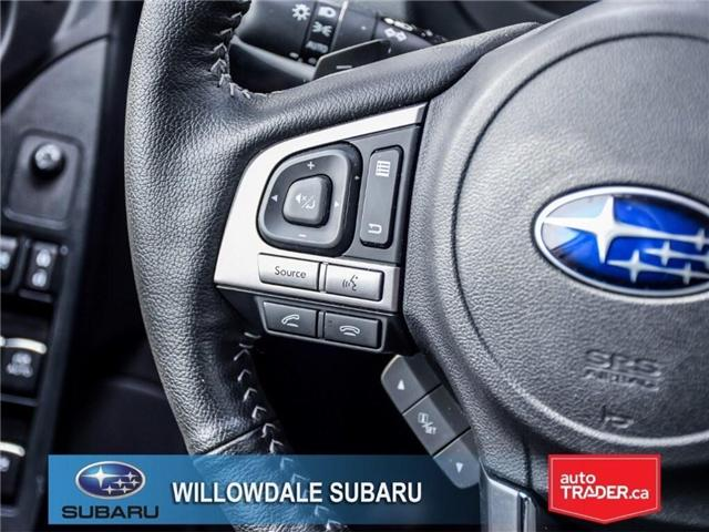 2018 Subaru Forester 2.5i | LIMITED | LEATHER | SUNROOF | NAVI (Stk: 18D64) in Toronto - Image 23 of 27