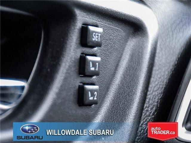2018 Subaru Forester 2.5i | LIMITED | LEATHER | SUNROOF | NAVI (Stk: 18D64) in Toronto - Image 25 of 27