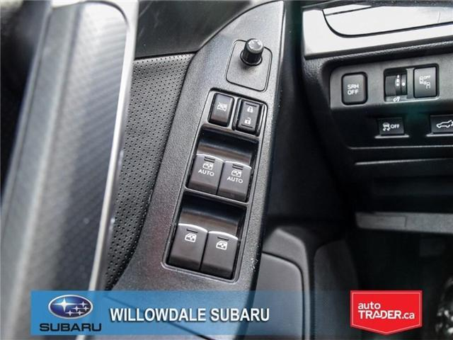 2018 Subaru Forester 2.5i | LIMITED | LEATHER | SUNROOF | NAVI (Stk: 18D64) in Toronto - Image 26 of 27
