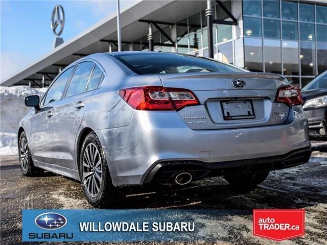 2018 Subaru Legacy 2.5i Touring | SUNROOF | BLUETOOTH | HEATED SEATS (Stk: 18D65) in Toronto - Image 3 of 24