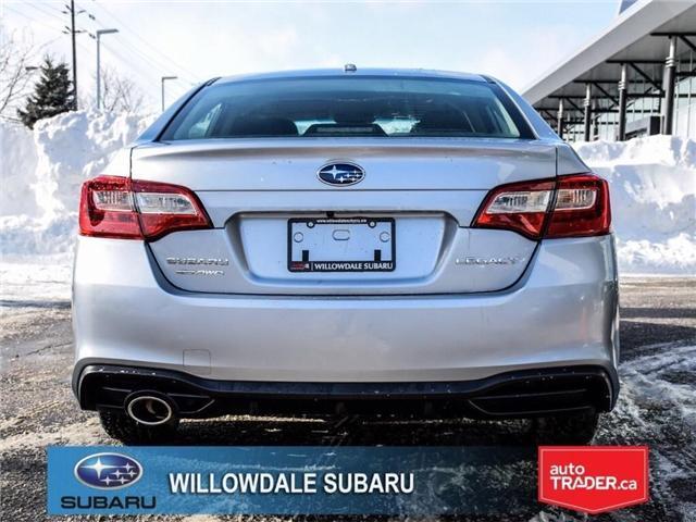 2018 Subaru Legacy 2.5i Touring | SUNROOF | BLUETOOTH | HEATED SEATS (Stk: 18D65) in Toronto - Image 4 of 24