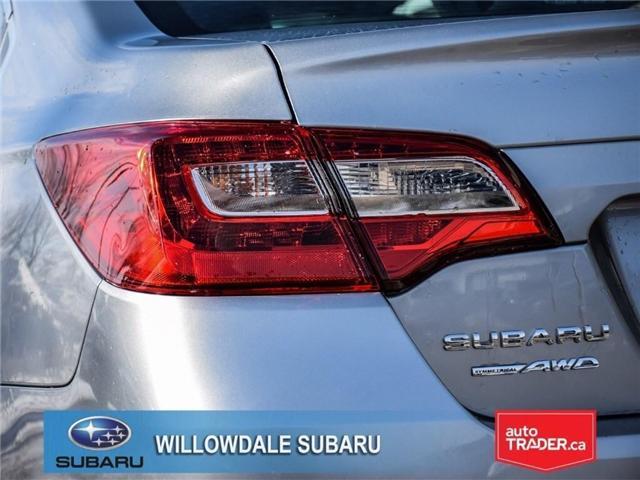 2018 Subaru Legacy 2.5i Touring | SUNROOF | BLUETOOTH | HEATED SEATS (Stk: 18D65) in Toronto - Image 7 of 24