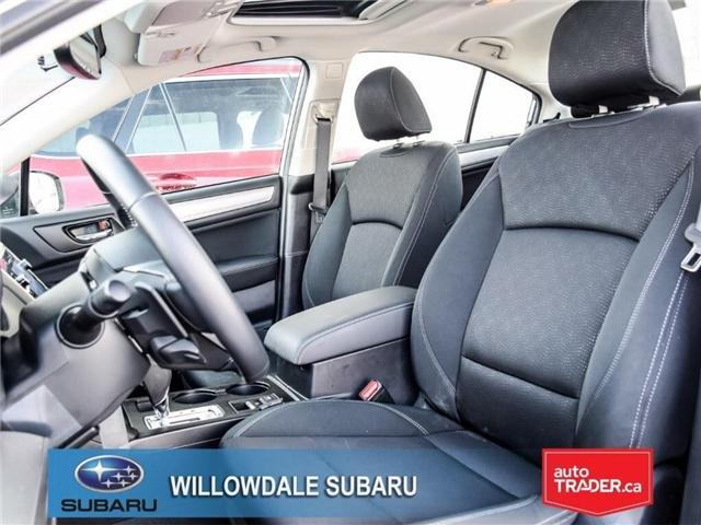2018 Subaru Legacy 2.5i Touring | SUNROOF | BLUETOOTH | HEATED SEATS (Stk: 18D65) in Toronto - Image 13 of 24