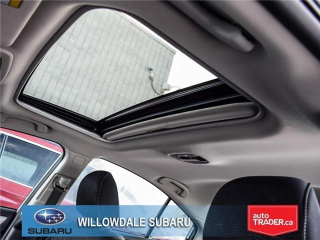 2018 Subaru Legacy 2.5i Touring | SUNROOF | BLUETOOTH | HEATED SEATS (Stk: 18D65) in Toronto - Image 14 of 24