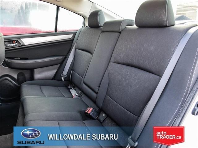 2018 Subaru Legacy 2.5i Touring | SUNROOF | BLUETOOTH | HEATED SEATS (Stk: 18D65) in Toronto - Image 15 of 24