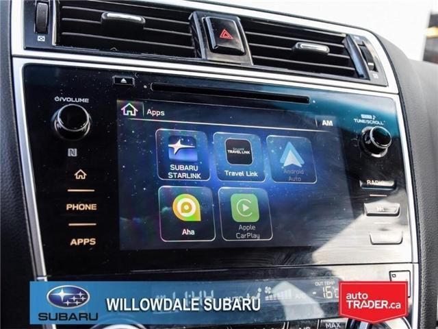 2018 Subaru Legacy 2.5i Touring | SUNROOF | BLUETOOTH | HEATED SEATS (Stk: 18D65) in Toronto - Image 18 of 24