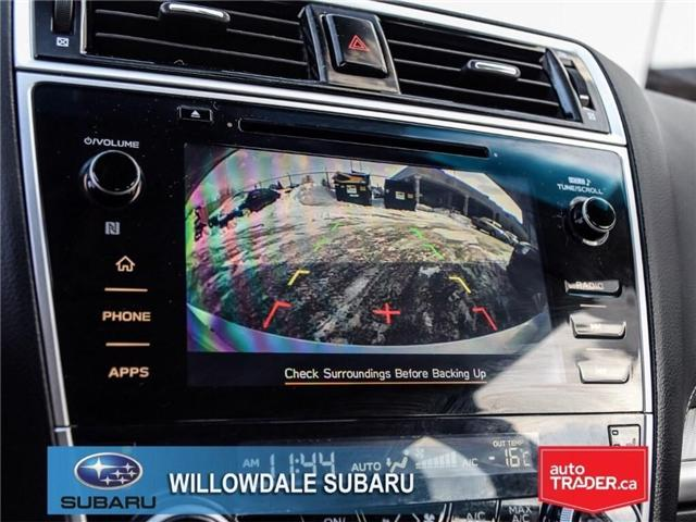 2018 Subaru Legacy 2.5i Touring | SUNROOF | BLUETOOTH | HEATED SEATS (Stk: 18D65) in Toronto - Image 19 of 24