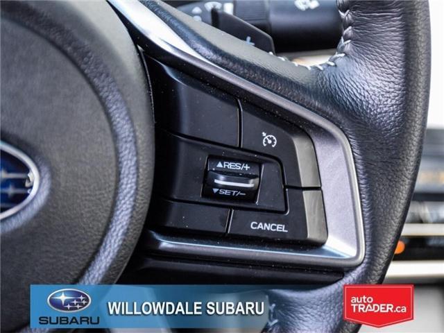 2018 Subaru Legacy 2.5i Touring | SUNROOF | BLUETOOTH | HEATED SEATS (Stk: 18D65) in Toronto - Image 22 of 24