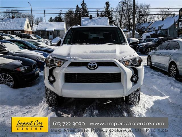 2017 Toyota 4Runner SR5 (Stk: 407345) in Ottawa - Image 2 of 25