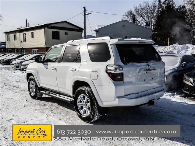 2017 Toyota 4Runner SR5 (Stk: 407345) in Ottawa - Image 4 of 25