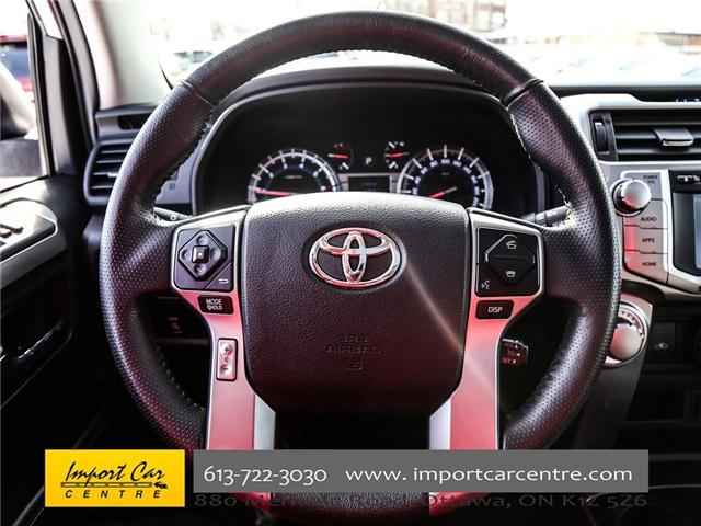 2017 Toyota 4Runner SR5 (Stk: 407345) in Ottawa - Image 19 of 25